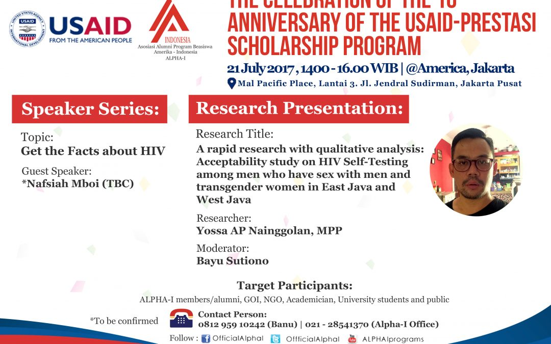 Talk show Get the Facts about HIV