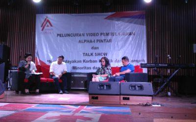 Peluncuran ALPHA-I PINTAR: Memberdayakan Korban Konflik dari Kelompok Minoritas & Rentan