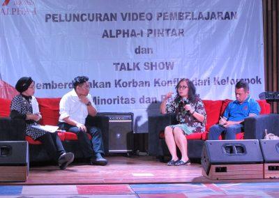 Launching ALPHAI PINTAR Sesi Manyapa