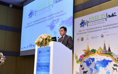 International Symposium for Veterinery Epidemiology dan Economics ISVEE ke-15,di Chiang Mai Thailand