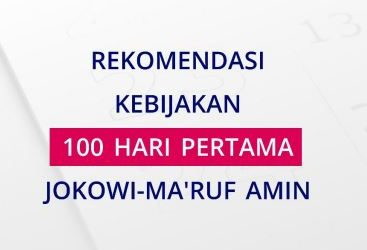 ALPHA-I: Rekomendasi Kebijakan 100 Hari Pertama Jokowi-Ma'ruf Amin